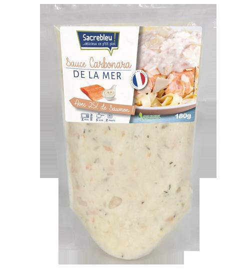 Sauce Carbonara de la mer