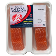 Pavé de saumon Label Rouge x 2