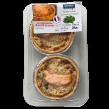 Tartelette Saumon et épinard